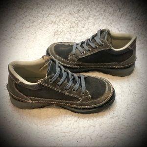 SwissGear Shoes - Swiss Gear Brown/Gray Leather Boots